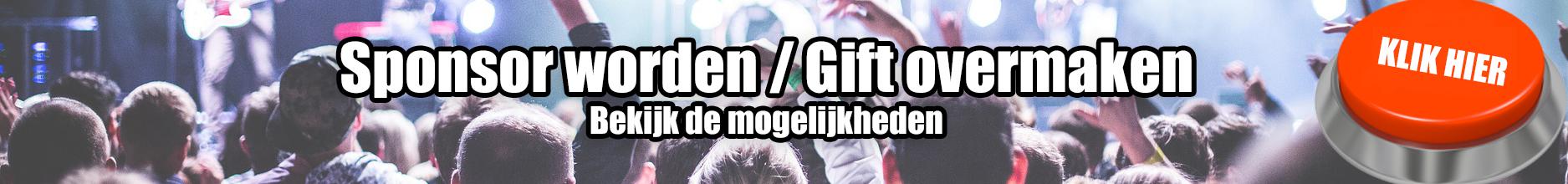 Banner website gift sponsor Volleyfest