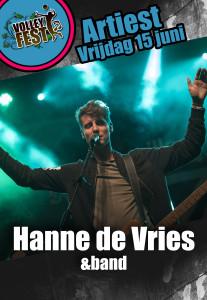 Artiest Hanne de Vries Volleyfest