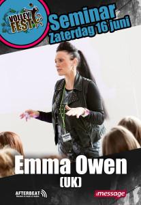 Seminar Emma Owen Volleyfesy 2018